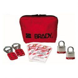 Brady-Kit-Bolsa-Portátil-para-Cadeados-de-Aço-JAV